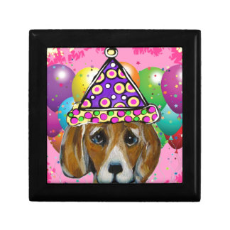 Beagle Party Dog Gift Box