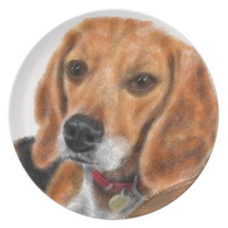 Beagle Plate