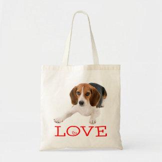 Beagle Puppy Dog Canine Red Love Heart