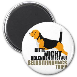 Beagle Selbstfindungstripp Magnet