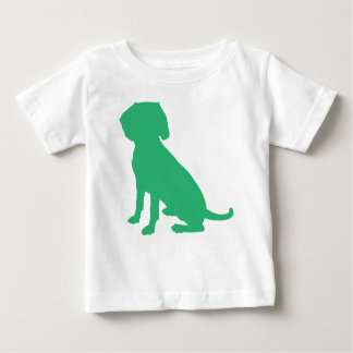 Beagle Silhouette Baby T-Shirt