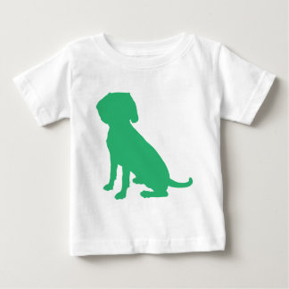 Beagle Silhouette Baby T-Shirt