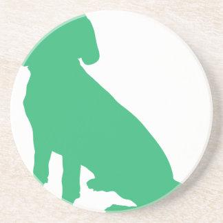 Beagle Silhouette Coaster