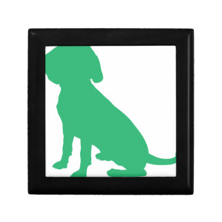 Beagle Silhouette Gift Box