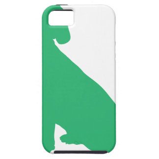 Beagle Silhouette iPhone 5 Cover
