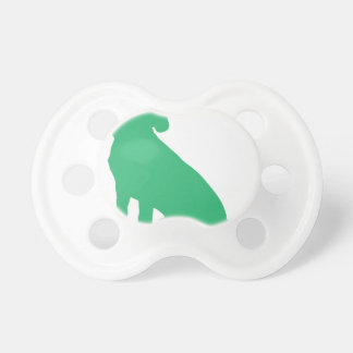 Beagle Silhouette Pacifier