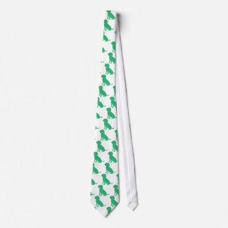 Beagle Silhouette Tie