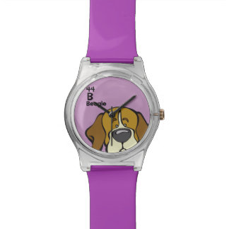 Beagle - The Dog Table Watch