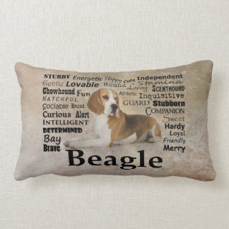 Beagle Traits Pillow