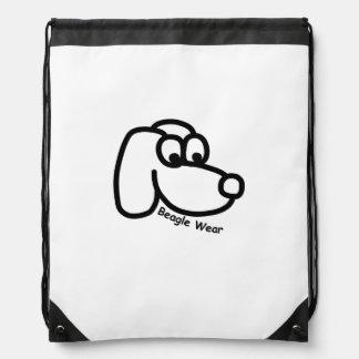 Beagle Wear Pack Drawstring Bag