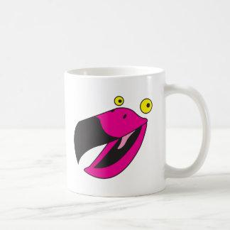 Beaker bird with funny face mug