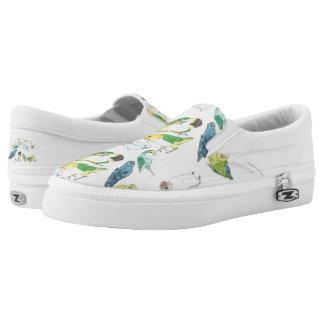 Beaky Birds Flock Slip-On Sneakers