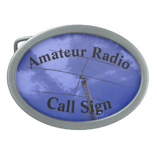 Beam Antenna and Call Sign Belt Buckles