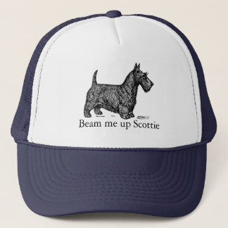 Beam Me up Scottie Trucker Hat