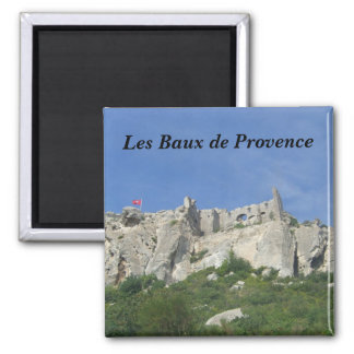 Beams of Provence Square Magnet