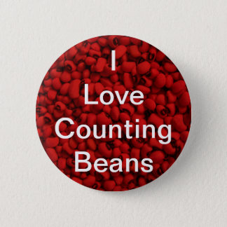 Bean Counter 2 Inch Round Button