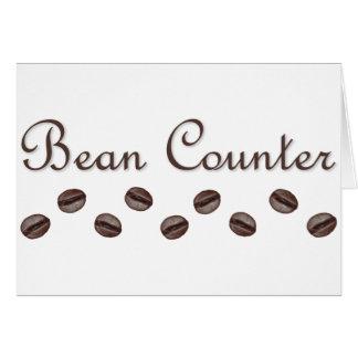 Bean Counter Card