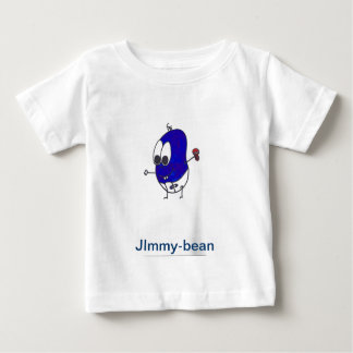Bean family charter for baby wear baby T-Shirt