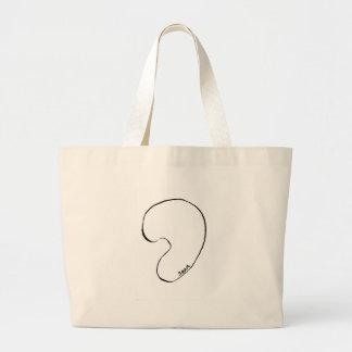 Bean Large Tote Bag