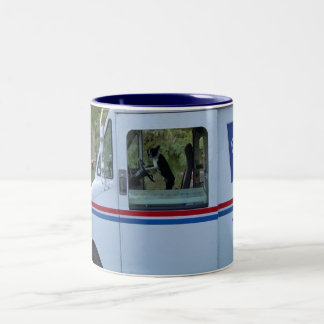 Bean Mail Delivery Two-Tone Coffee Mug