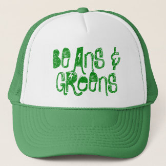 Beans and Greens Trucker hat