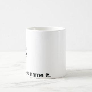 Beans, Greens, Potatoes, Tomatoes… Coffee Mug
