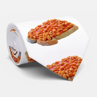 Beans on toast Neck Tie