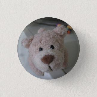 Bear 1 Inch Round Button