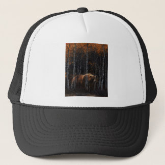 Bear 3 trucker hat