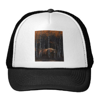 Bear 3 trucker hat