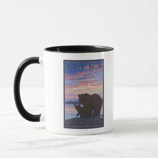 Bear and Cub - Sitka, Alaska Mug