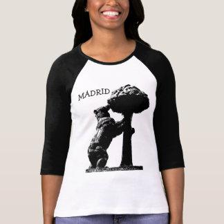 Bear and tree, Madrid T-Shirt