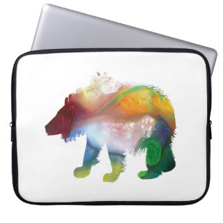 Bear Art Laptop Sleeve