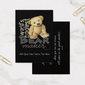Bear Artists Design Personalized Business Cards
