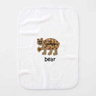 Bear Baby Burp Cloths