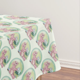 "BEAR BATH FAMILY Tablecloth  52""x70"""