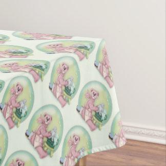 """BEAR BATH FAMILY Tablecloth  60""""x84"""""""