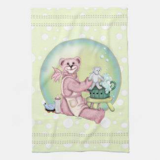 BEAR BATH Linen with crockery Hand Towels