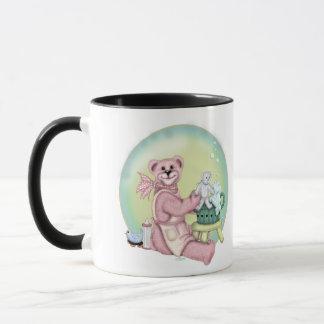BEAR BATH LOVE CARTOON Combo Mug