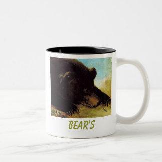 bear,  BEAR'S Two-Tone Coffee Mug
