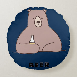 Bear Beer Pillow