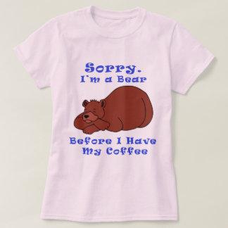 Bear Before Coffee T-Shirt