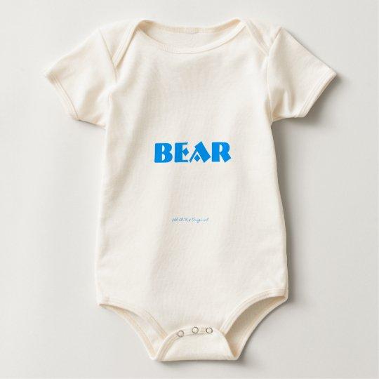 BEAR BEHIND, $B.A.K.$ Original Baby Bodysuit