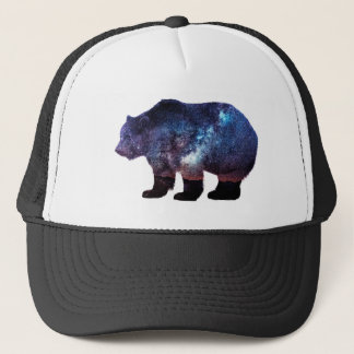 Bear - Behind the Stars Trucker Hat