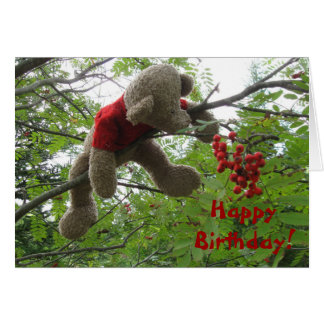 Bear Berries, Happy Birthday! Card