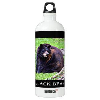 Bear (Black) Water Bottle