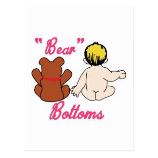 Bear Bottoms Postcard