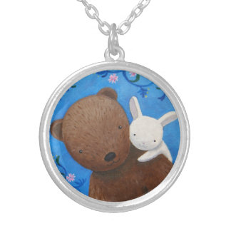 Bear & Bunny Forever Love Necklace Sweet Woodland