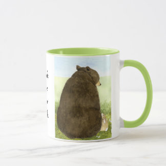 Bear & Bunny - Friends have your back! Mug
