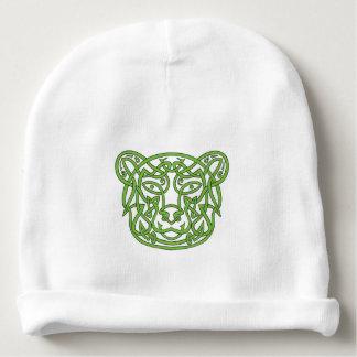 Bear Celtic Knot Baby Beanie